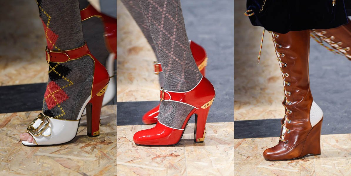 Prada Runway Shoes Fall Winter 2016 2017