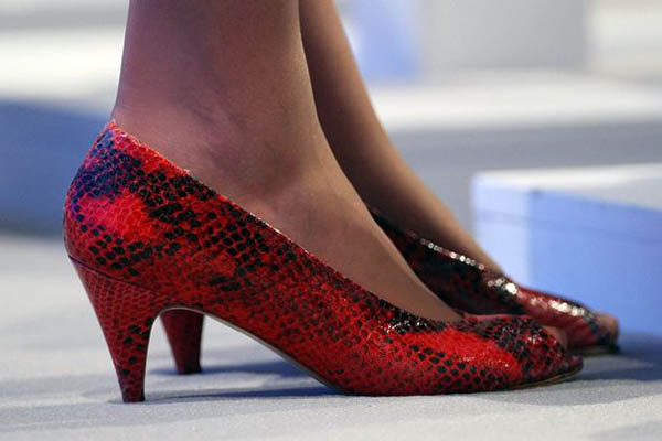 Theresa May Shoe
