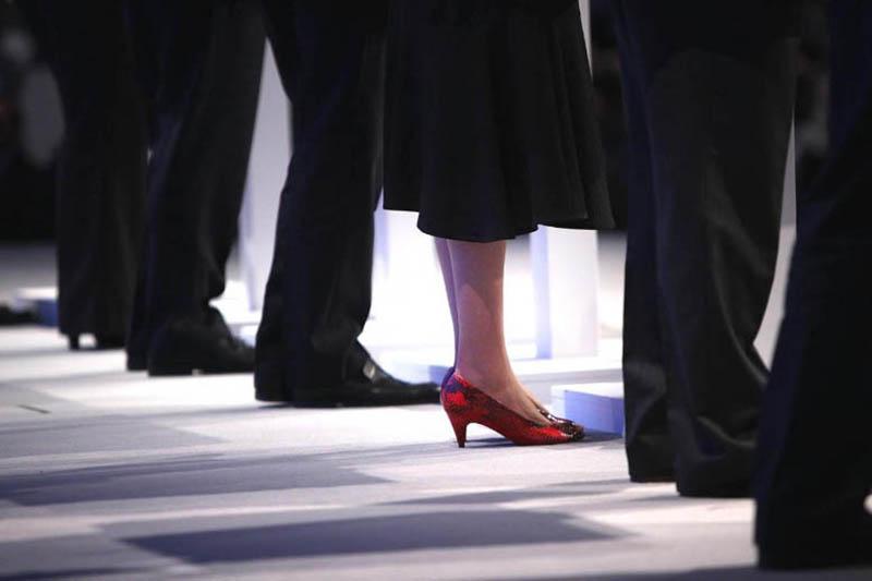 Theresa May Shoe