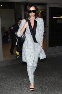 Victoria Beckham's Airport Style
