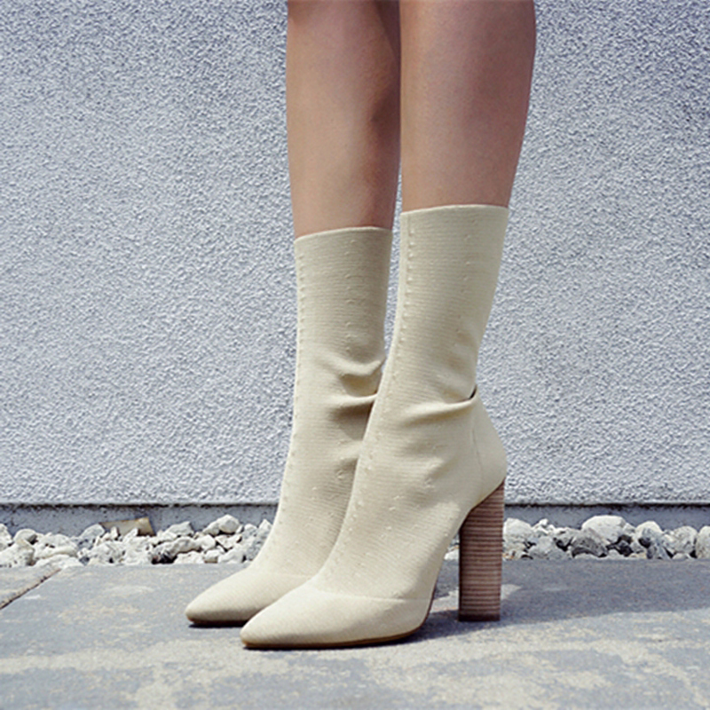 Shop sock boots at Chiko Shoes at US$127, free shipping