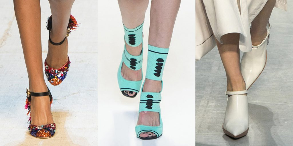 Best Runway Shoes Spring Summer 2017 At Milan Fashion Week