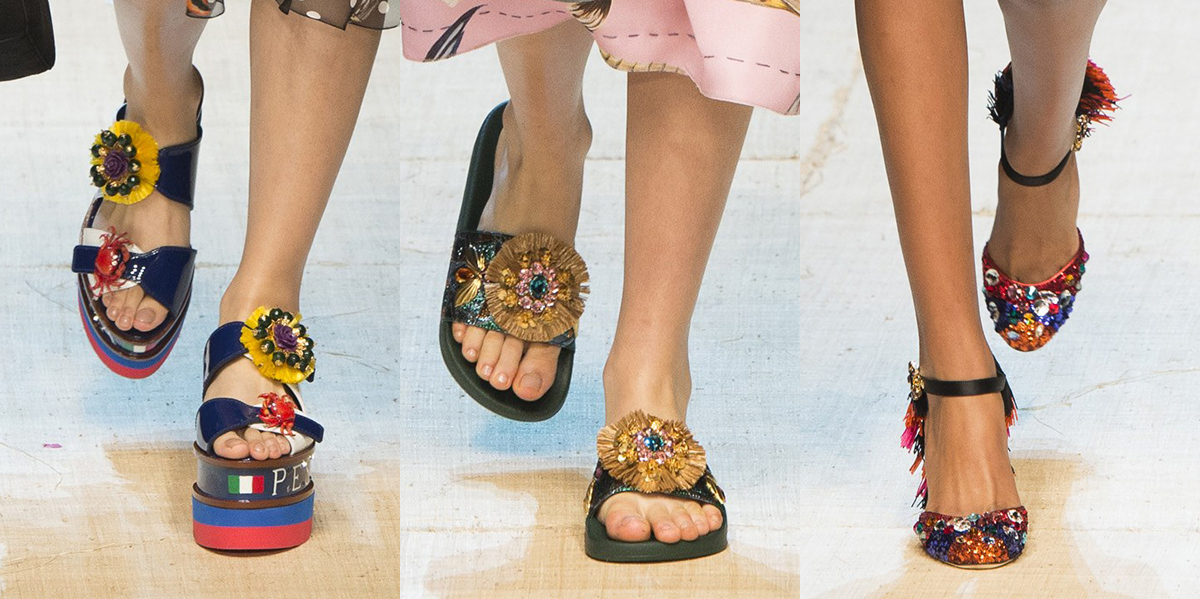 Dolce Gabbana shoes spring 2017