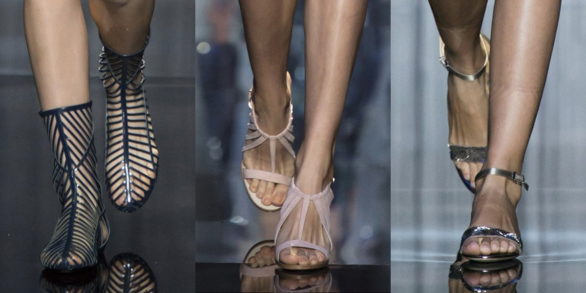 Best Runway Shoes Spring Summer 2017 At Milan Fashion Week