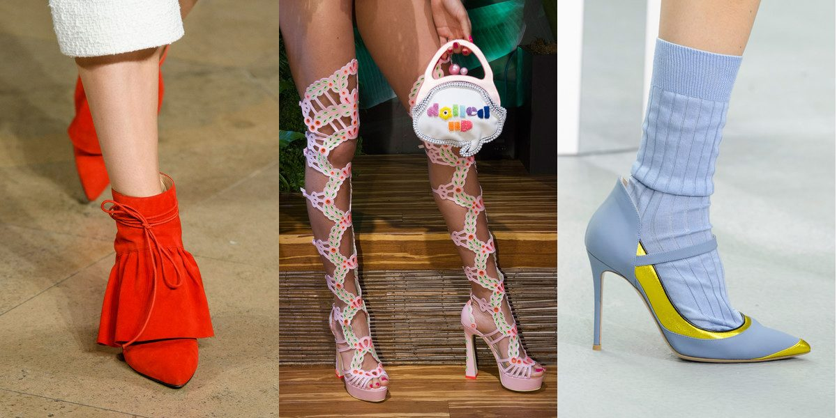 Best Runway Shoes At London Fashion Week Spring Summer 2017