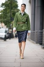 Best Street Styles At London Fashion week Spring Summer 2017
