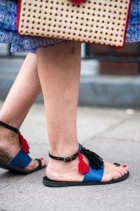Street shoes at London fashion week spring summer 2017