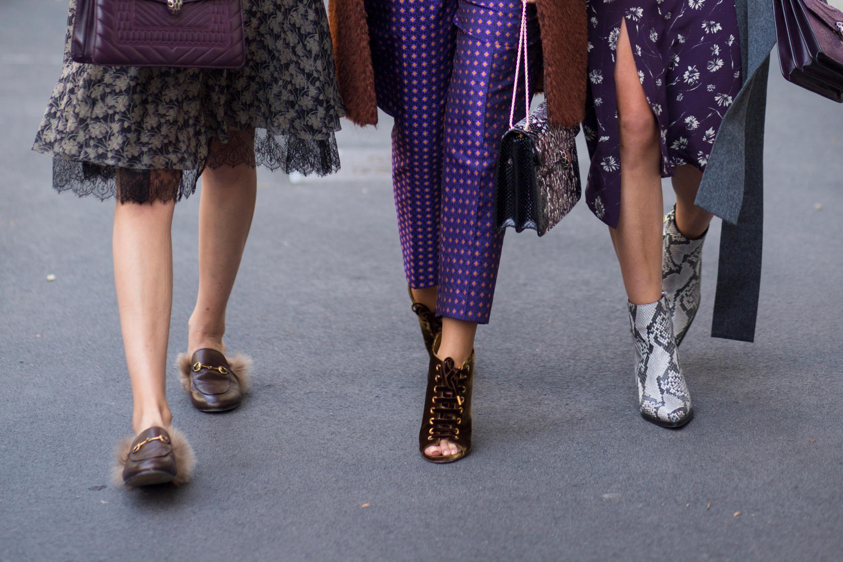 Street shoes at Milan fashion Week Spring Summer 2017