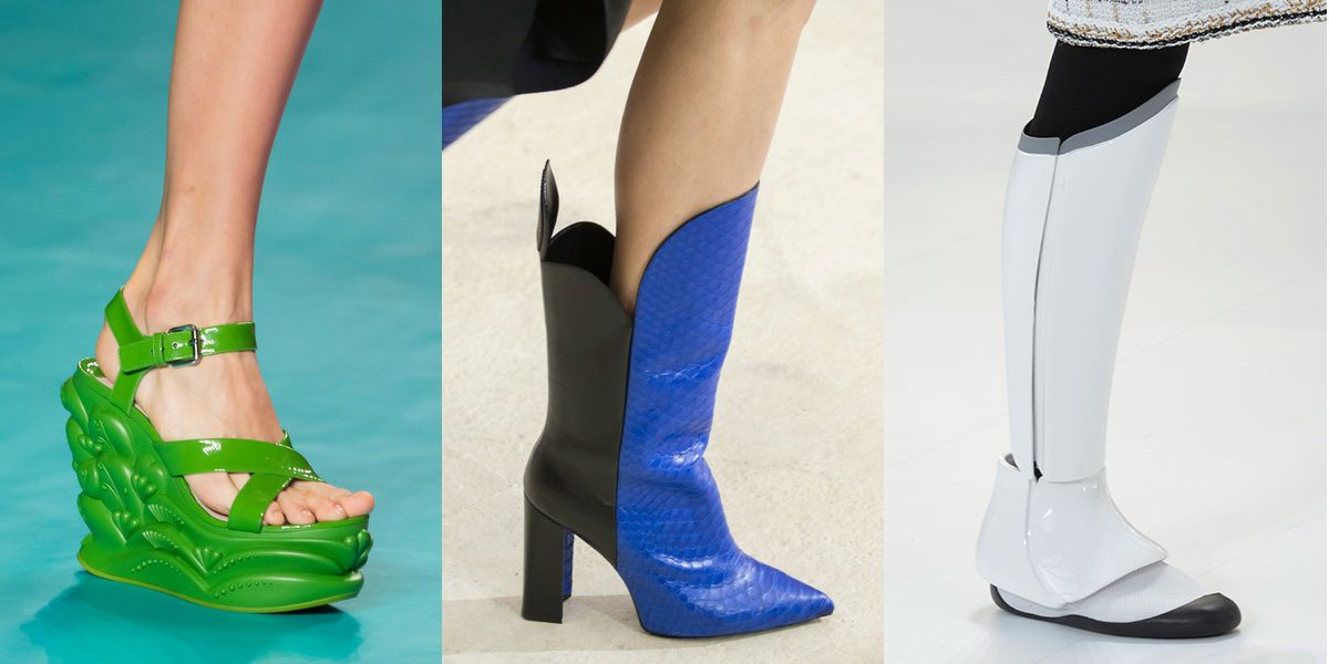 Best Runway Shoes At Paris fashion week spring summer 2017