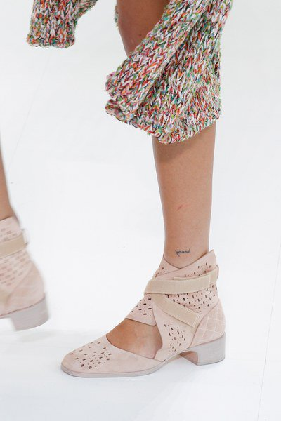 chanel shoes spring summer 2017 at paris fashion week