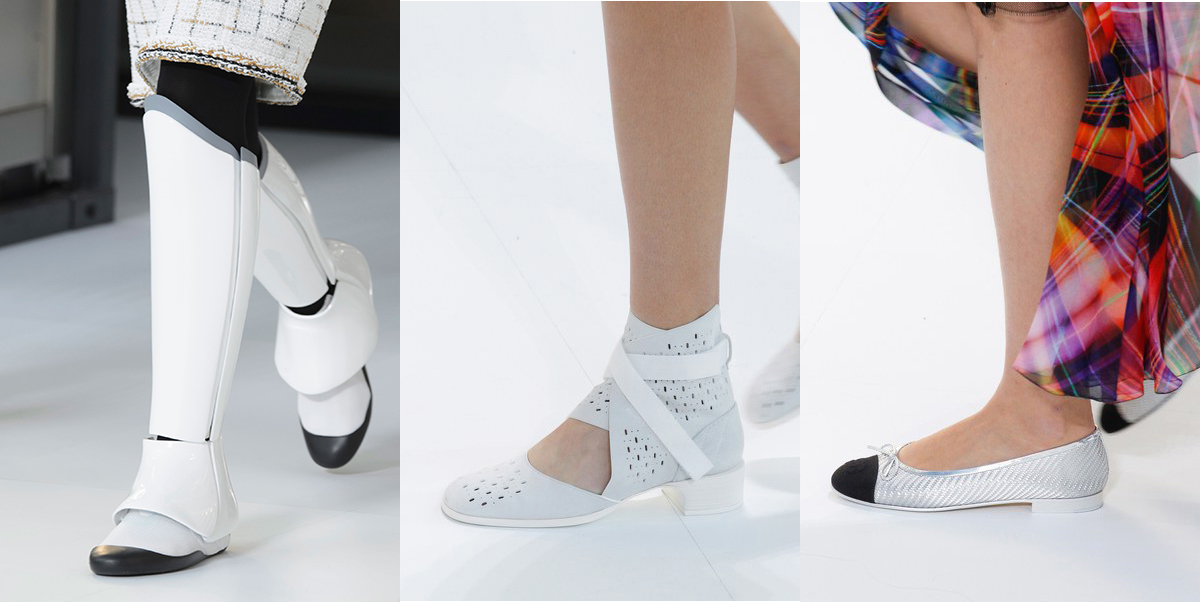 Chanel shoes spring summer 2017