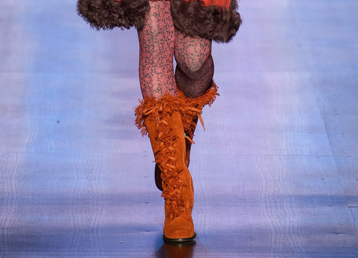 Anna Sui Shoes Fall Winter 2017/2018