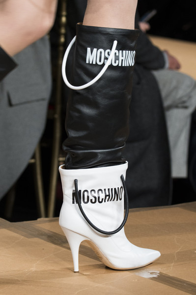 Moschino shoes fall winter 2017/2018