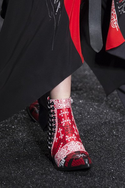 Alexander McQueen Shoes Fall Winter 2017/2018