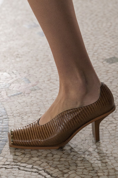 Stella McCartney Tan Square Toe Heels Buy Cheap Shop Offer lPxTuczZ