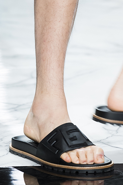 Fendi Men Shoes Spring 2018