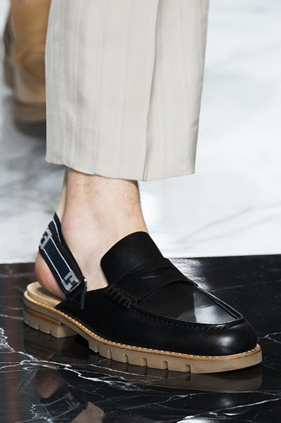 fendi men shoes spring 2018 are sock boots ready