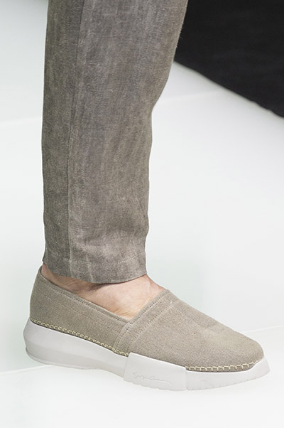 Giorgio Armani men shoes spring 2018