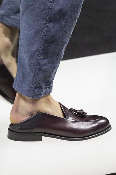 Giorgio Armani men shoes spring 2018