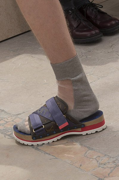 Louis Vuitton Men Shoes Spring 2018 Introduced Flatforms