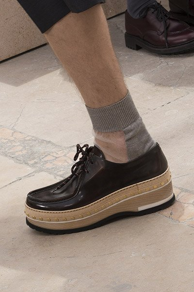 Louis Vuitton Men Shoes Spring 2018 Introduced Flatforms