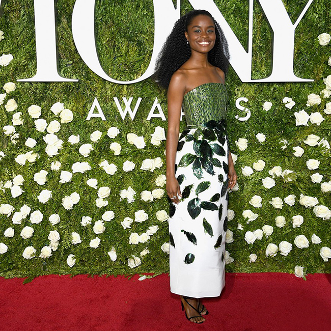 red-carpet-denee-benton-shoes-tony-awards-2017