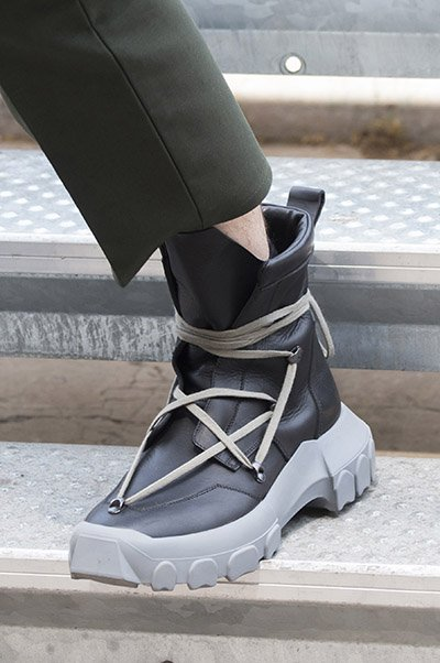 rick owens men shoes spring 2018