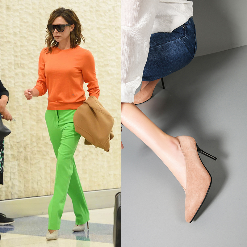 Glove Shoes Victoria Beckham Wear Glove Shoes With Everything