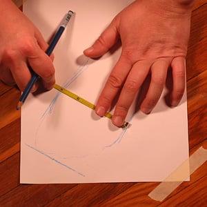 how to measure your shoe zie