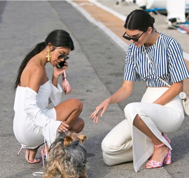 Kendall Jenner Street Style in Cannes