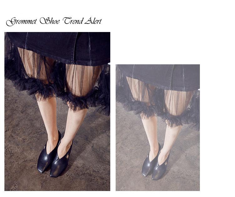 Grommets Shoe