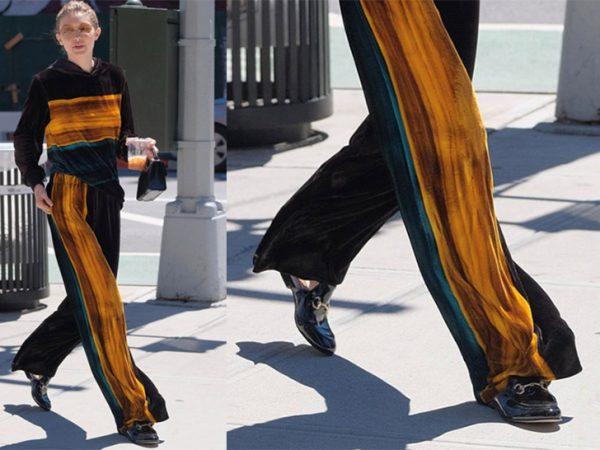 Gigi Hadid Loves Her Mule Loafers