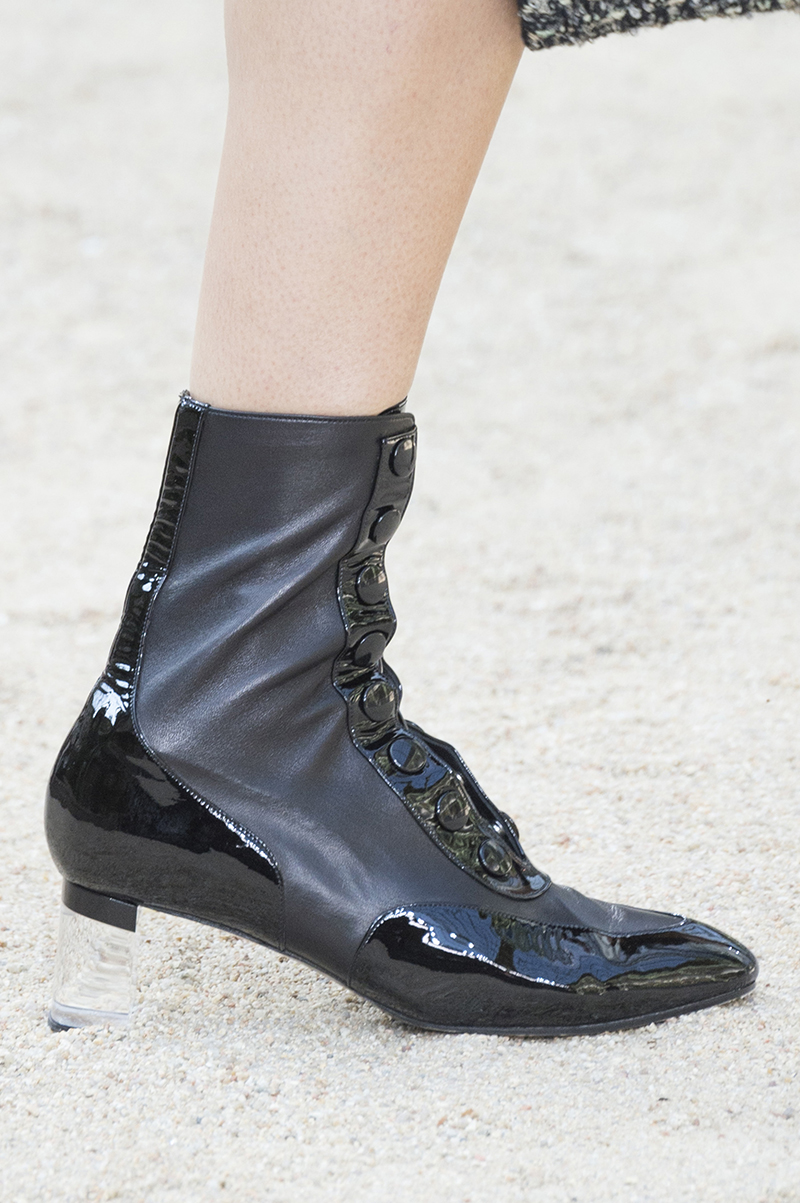 Chanel shoes haute couture fall 2017