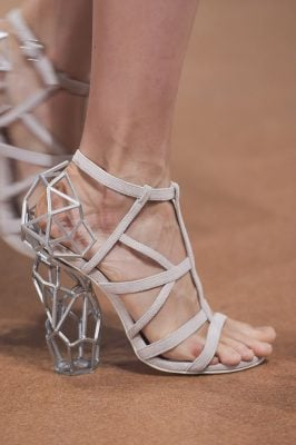 Iris Van Herpen Shoes Paris Couture fall 2017