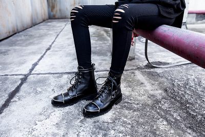 military combat boots trend