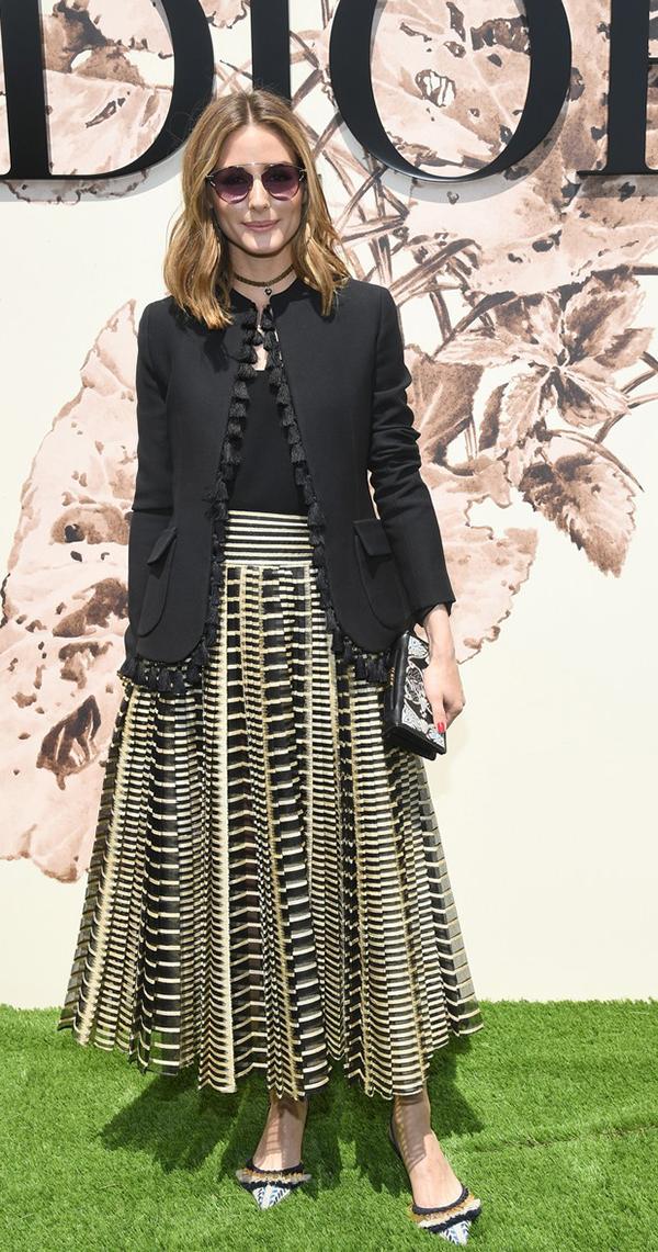 Olivia Palermo Paris Haute Couture Fashion Week
