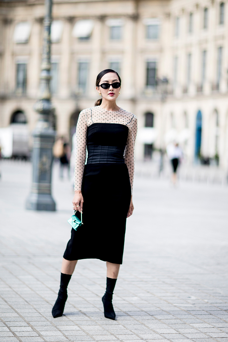 Paris Street Styles At Haute Couture Fall 2017 Fashion Week Chiko Shoes
