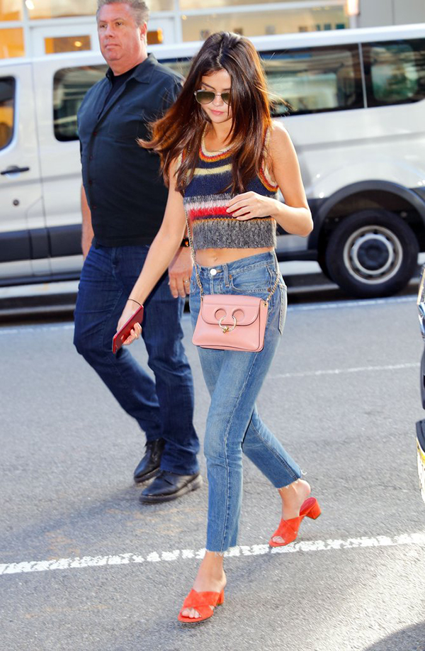 Selena Gomez Street Styles Are Trendy And Simple Chiko Shoes