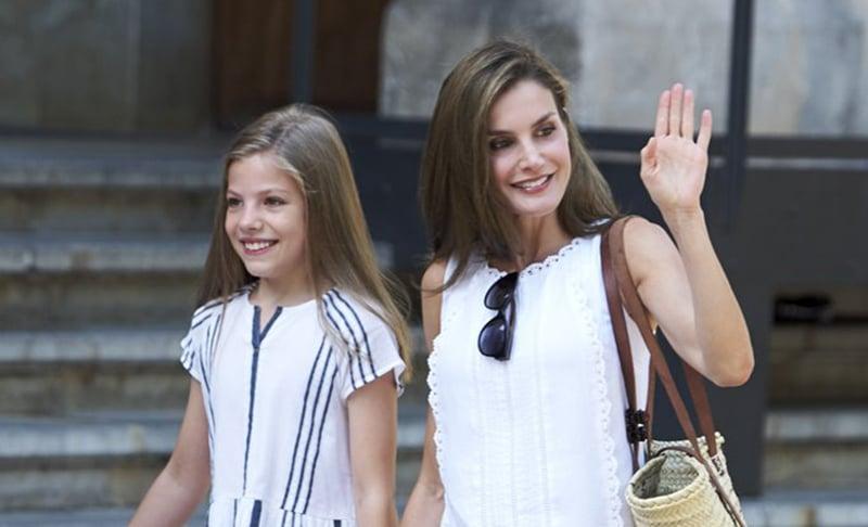 Spanish Queen Letizia Street Style