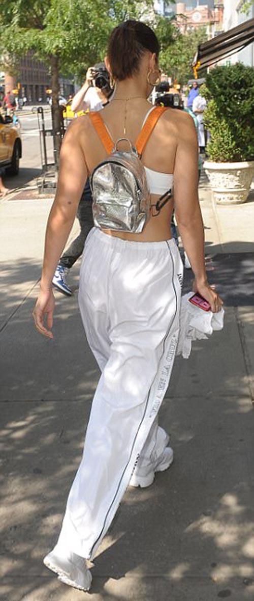 Bella Hadid Street Style White