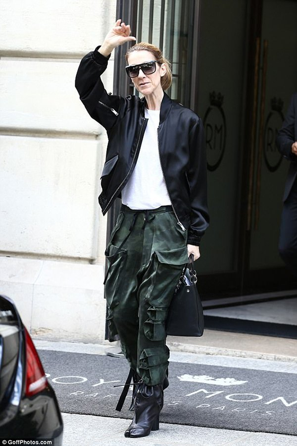 Celine Dion Street Styles Are Bold Wild And Creative