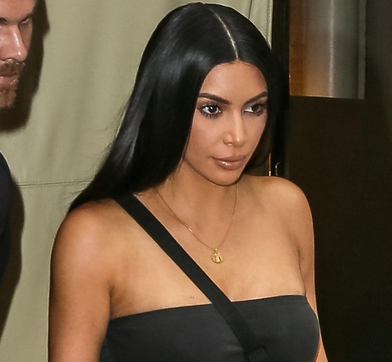Kim Kardashian street style