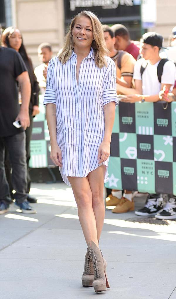 Leann Rimes Ankle Boots Style Is Impressive Chiko Shoes