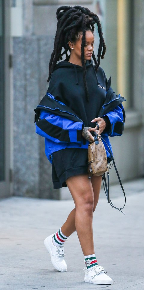 Rihanna Street Styles Are Punk Rock Authenticity Chiko Shoes