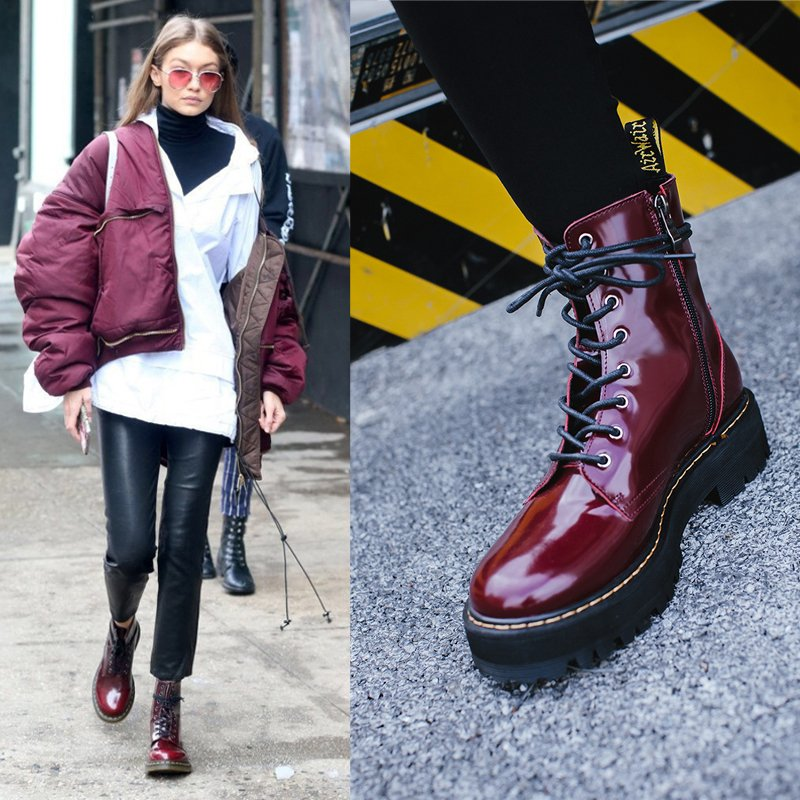 Chiko Nash Round Toe Combat Ankle Boots