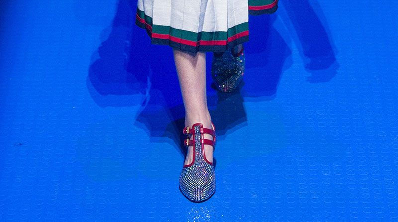 Gucci shoes spring 2018