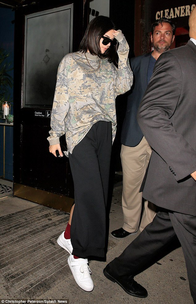 Kendall Jenner Athleisure Trend