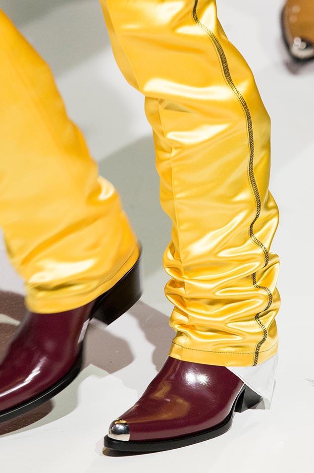 Calvin Klein Spring 2018 shoes