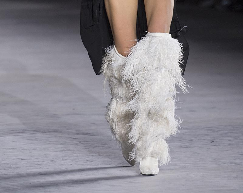 Saint Laurent shoes spring 2018
