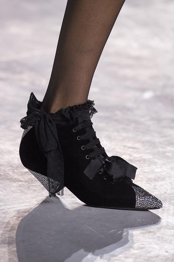Saint Laurent shoes spring 2018